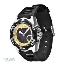 style watches the shark collection for men style shark x 2 0 yellow dial men s ana digi watch fs81244