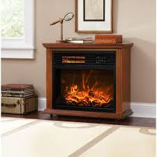 com xtremepowerus infrared quartz electric fireplace heater finish with remote controller oak home kitchen