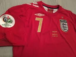 Catawiki 2006 David Beckham - Sweden Shirt Cup Away England Legend 7 Vs World