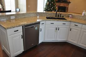 Black Walnut Kitchen Cabinets Stone Ridge Cabinets Kitchen Cabinets Off White With Black