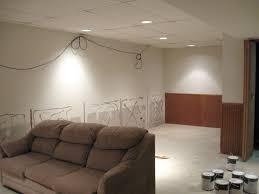 unfinished basement ceiling ideas. Lighting Unfinished Basement Ceiling Ideas