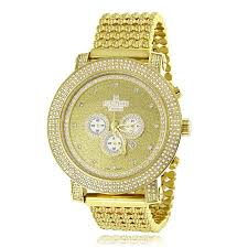 iced out watches diamond ice time watches for men women hip hop watches mens diamond ice time crown watch 8ct yellow gold p