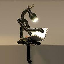 35 Creative Diy Industrial Pipe Lamp Design Ideas Robot To Decor