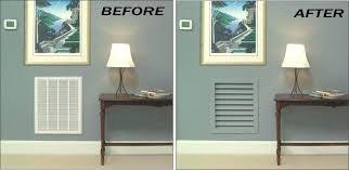 wall return air grille decorative return air grills make such a difference decorative wall return air