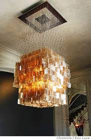 show off with chandeliers another blast from the past they can be edgy and artistic as well as bejeweled and pretentious