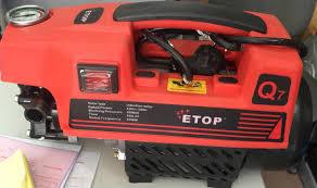 Máy rửa xe áp lực cao ETOP Q7