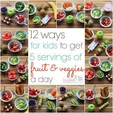 12 pictures of what 5 servings of fruit
