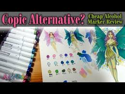 Copic Alternative Cheap Alcohol Marker Review And Time