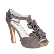 Womens Grey Dress Shoe