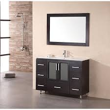 bathroom vanities 48 inch. Design Element Stanton 48-inch Espresso Wood Bathroom Vanity Bathroom Vanities 48 Inch