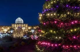 event pick dominion gardenfest of lights at lewis ginter botanical garden night and day style weekly richmond va local news arts and events