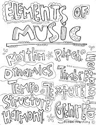 Instrument Coloring Pages Free Printable Musical Instrument Coloring