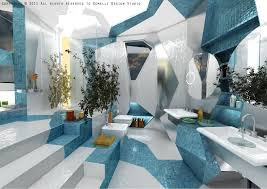 unique bathroom lighting ideas. fashionable interior design with cubism idea by brani u0026 desi stepped deluxe bathroom designs unique lighting ideas