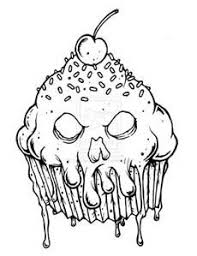Scary Horror Coloring Pages Bing Images Coloring Pages Cupcake