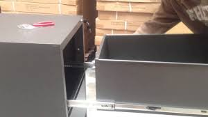 How to put the filing cabinet back? - YouTube