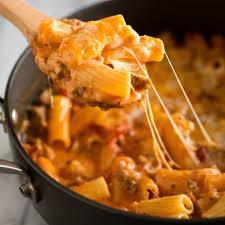 one pan baked ziti recipe tastes