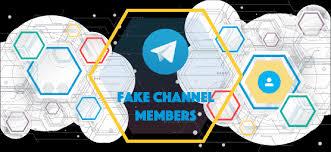 fake telegram channel members