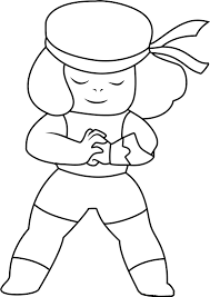 Small Picture Steven Universe coloring pages to download and print for free