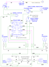 adding a the turn signal relay conversion diagram to add a turn signal relay