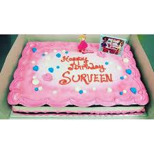 Custom Birthday Cake For Girl 3