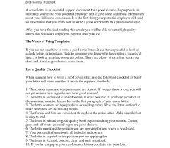 Writing Good Resume Resume Template