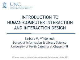 Interaction Design Process In Hci Ppt Introduction To Human Computer Interaction And