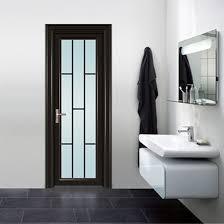 china aluminium door interior frosted
