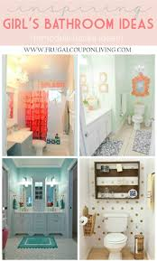 Teenage Bathroom Decor 17 Best Ideas About Girl Bathroom Decor On Pinterest Girl
