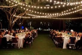 Image Of Diy Outdoor Wedding Lighting