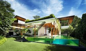 View in gallery outdoor house plan with interior courtyard and rooftop  garden 2 thumb 630x372 28479 Outdoor House Plan