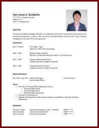 resume college student sample resume examples experience college students simple resumes templates