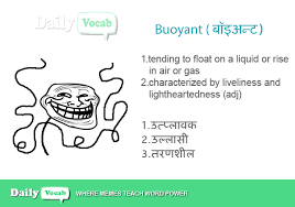 Buoyant meaning in Hindi with Picture via Relatably.com
