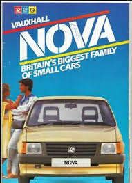 Vauxhall Colour Chart Details About Vauxhall Nova Sales Brochure 1985 Complete With Colour Chart