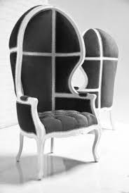 balloon chair in charcoal velvet modern wing chairs