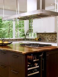 Custom Kitchen Island Design Custom Kitchen Island With Wine Cooler Best Kitchen Ideas 2017