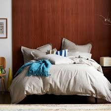 this review is from scribble taupe organic queen duvet cover