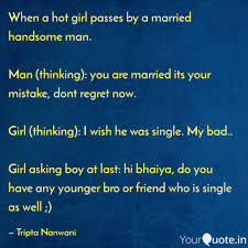 When A Hot Girl Passes By Quotes Writings By Tripta Nanwani