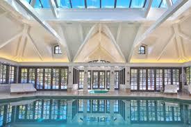 Public Swimming Pool Design Elegant Private Indoor Glass Mosaic Swimming Pool With Atrium