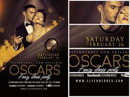 Fancy Flyers Oscars Fancy Dress Party Flyer Template V2 Flyerheroes