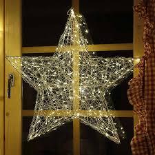 Weihnachtsstern Mit Led Blinkend