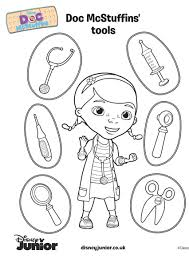 Doc Mcstuffins Coloring Pages Printable Warm Page 37 Face For Girls