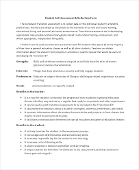 Employee Self Assessment Enchanting Self Assessment Template 48 Word PDF Documents Download Free