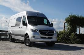 After we pulled ourselves up, the view is commanding from the driver's seat. 2019 Mercedes Benz Sprinter Review Autoguide Com
