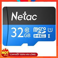 Thẻ nhớ Micro SD Netac 32GB Full HD