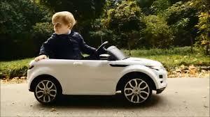 Детский <b>электромобиль Rastar Range</b> Rover Evoque 12V - YouTube