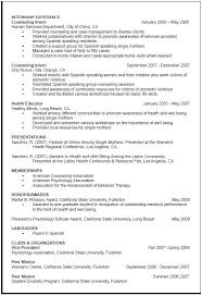 Resumes Examples For Students Mesmerizing Sample Grad School Resume Objective For Graduate School Resume