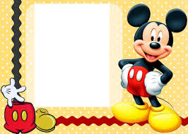 Make Your Own Mickey Mouse Invitations Mickey Mouse Invitation Layout From I Combined With Interesting