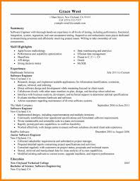 Engineer Resume Template 100 software engineer resume template how to make a cv 90