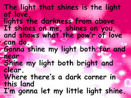 The Light That Shines In Me This Little Light Of Mine Ppt Download