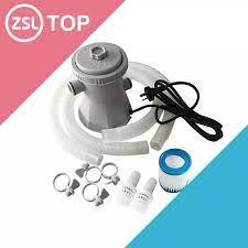 220V elektrikli havuz filtre pompası yüzme havuzları için temizleme aracı  filtre seti yüzme havuzu sirkülasyon filtresi pompası su pompası Pool &  Accessories